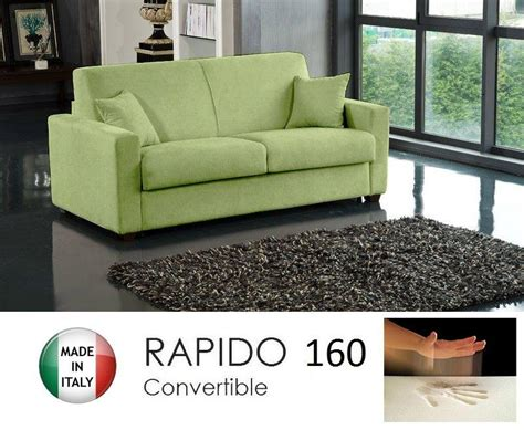 canape convertible 160 canape convertible rapido 160cm dreamer tissu microfibre