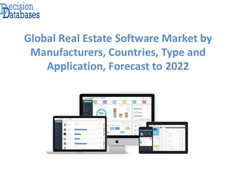 Real Estate Software Market Report 2017 : 2022 - Global ...