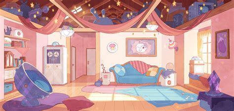 aesthetic modern pink anime bedroom background trendecors