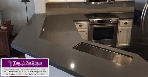 lk s concrete caesarstone quartz kitchen in thousand oaks