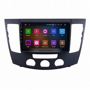 9 Inch For 2009 Hyundai Sonata Manual A  C Radio Android 9