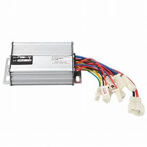 36v 1000w Motorcycle Controller Brushed Throttle Twist