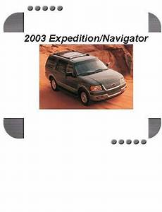 Ford Expedition  Lincoln Navigator 2003 Repair Service Manual