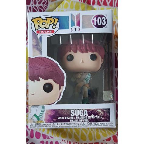 — shipping from malaysia — international shipping: Funko Pop! Rocks #103 BTS Suga | Shopee Philippines
