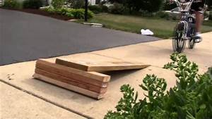 Homemade Bmx Ramp Youtube