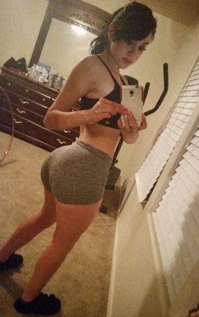 jailyne ojeda ochoas epic booty  yoga pants shorts