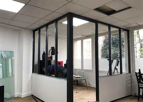 cloison bureau création d 39 une salle de réunion type atelier à 17