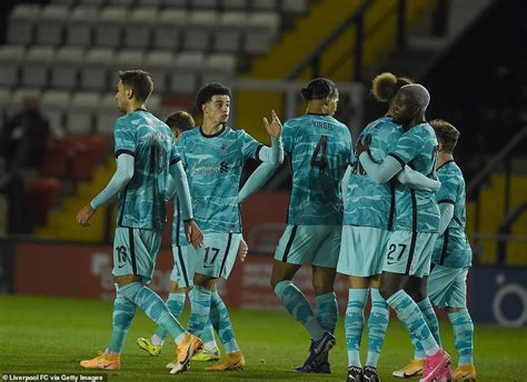 Lincoln 2-7 Liverpool: Clinical Reds ease past League One ...