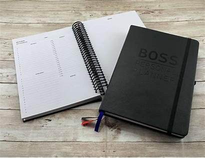 Notebook Personal Productivity Planner Boss Goals Plan