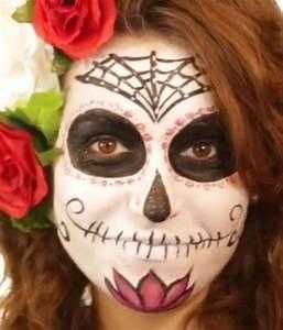 Richtig Schminken Anleitung : sugar skull spain schminken halloween schminken anleitung tipps motive vorlagen ~ Frokenaadalensverden.com Haus und Dekorationen