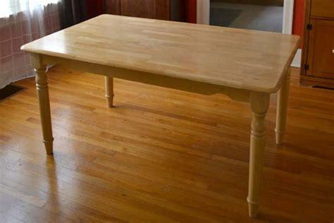 refinishing  plain jane dining table lansdowne life