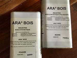 Resine Pour Bois : ara bois pour reboucher colmater reparer un meuble ~ Premium-room.com Idées de Décoration