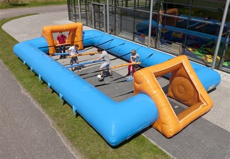 Baby Foot Humain Bleu - gonflable   JB-Inflatables