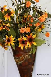 Instant, Fall, Door, Floral