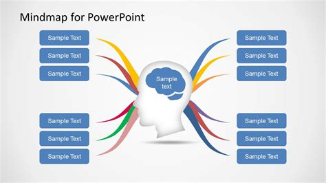 mind map diagram template  powerpoint slidemodel