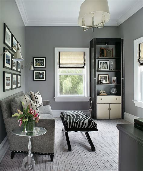 Gray Home Design Ideas by 25 Inspirations Showcasing Home Office Trends