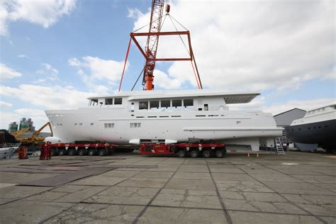 Mak Yacht by Hull And Superstructure Of New Wim Van Der Valk Superyacht