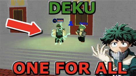 All New Deku Ofa Showcase