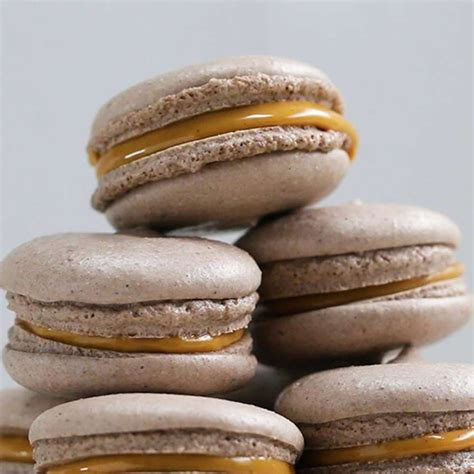 Perfect for those avoiding animal products or who have an egg allergy. Vegan Peanut Butter Macarons | Recipe in 2020 | Vegan desserts, Vegan peanut butter, Macaron recipe