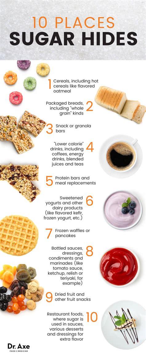 hidden sugar foods  avoid healthier alternatives dr axe