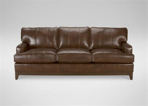 Ethan Allen Leather Sofa Reviews by Sofas Ethan Allen Leather Ethan Allen Ottoman