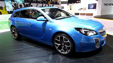 2014 Opel Insignia Opc Exterior And Interior Wolkaround
