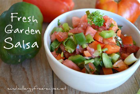 garden fresh salsa fresh garden salsa paleo gluten free dairy free vegan