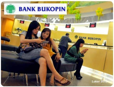 lowongan kerja terbaru   bank bukopin april