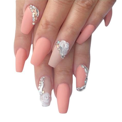 Farbe Matt Machen by 1001 Ideas For Nails With Rhinestones You Must Try This Year