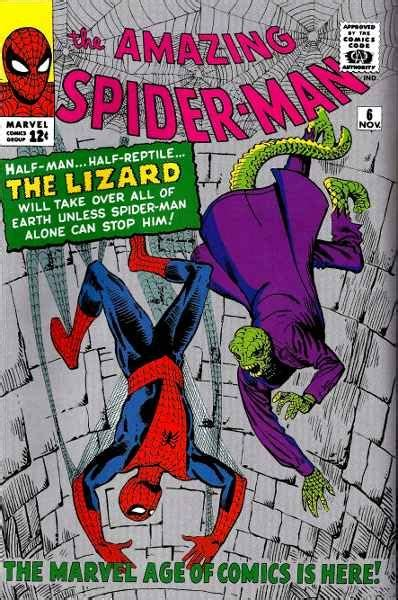 appearance   lizard spiderman comic spiderman