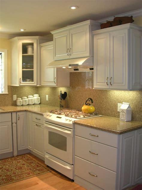 traditional kitchen white cabinets white appliances design