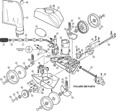 polaris  idler wheel small