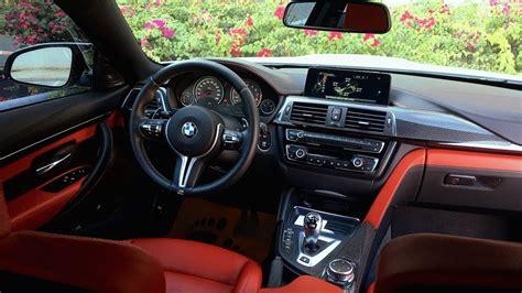 bmw m4 interior bmw m4 detailed interior review