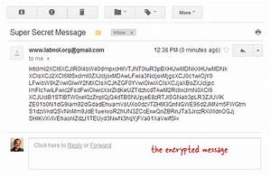 How to encrypt gmail messages with google docs for Google documents encryption