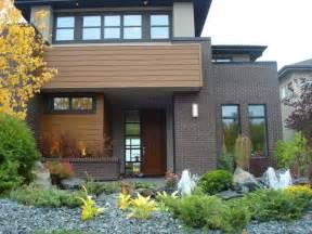 Modern Brick Home - Modern - Exterior - edmonton - by Cast