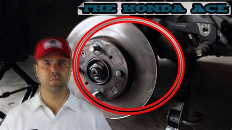 wheel lug stud replacement civic  honda ace youtube