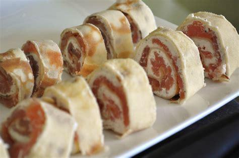 saumon boursin cuisine crêpes roulées saumon fumé boursin epinards mp cuisine