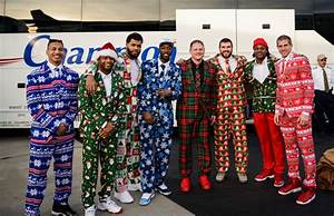Packers Show Up To Charlotte In Christmas Suits And Velor