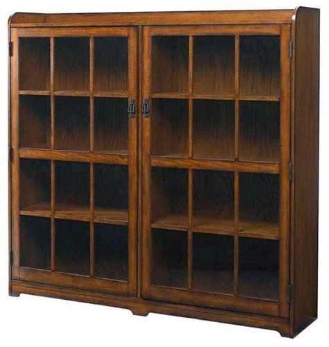 Oak Finish Bookcase by Shop Houzz Hammary Furniture Bookcase In Mission Oak