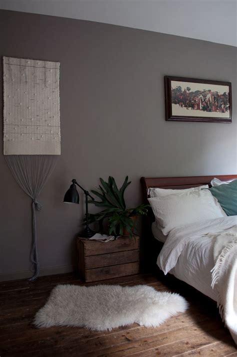 Bedroom Colour Inspo by A Moody Mid Century Modernist Maisonette Design Sponge