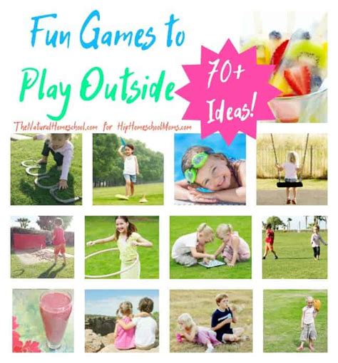 Fun Games To Play Outside {70+ Ideas!}  The Natural
