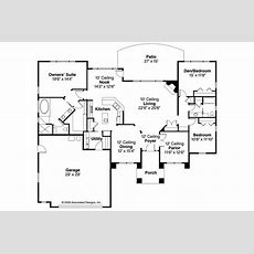 Mediterranean House Plans  Mendocino 30681 Associated
