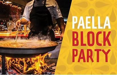Jaleo Paella Springs Disney Block Anniversary Hosting