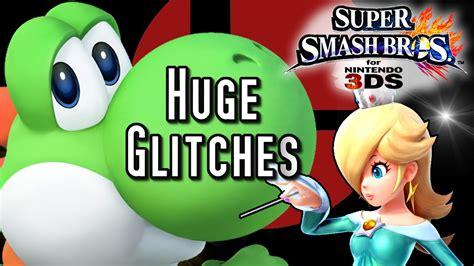 Super Smash Bros Huge Glitches Big Yoshi Giant Girls