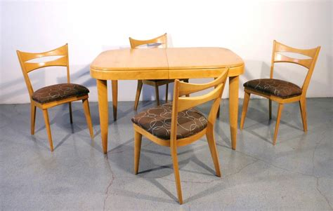 Heywood Wakefield Dining Set Value by Heywood Wakefield Dining Set With 4 Chairs C 1950