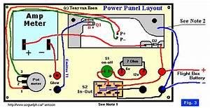 Power Panel  Part Of Glowplug Circuit