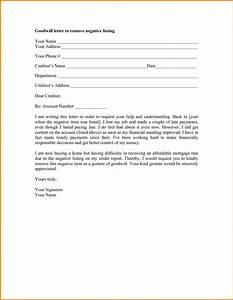 goodwill letter template authorization letter pdf With template letters to creditors