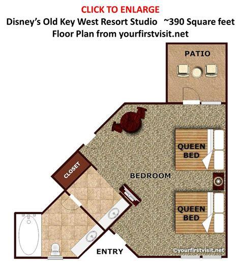 Bedrooms Old Key West 1 Bedroom Villa Floor Plan