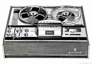 Grundig Tk 147 - Manual - Tape Deck