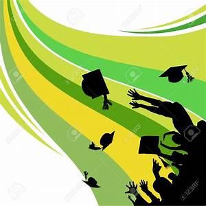 Graduation clipart wallpaper - Pencil and in color ...